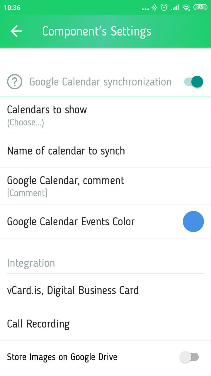 gnomguru crm sync google calendar